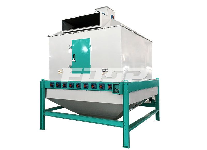 feed machinery cooler